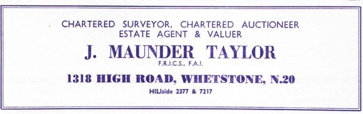 Maunder Taylor