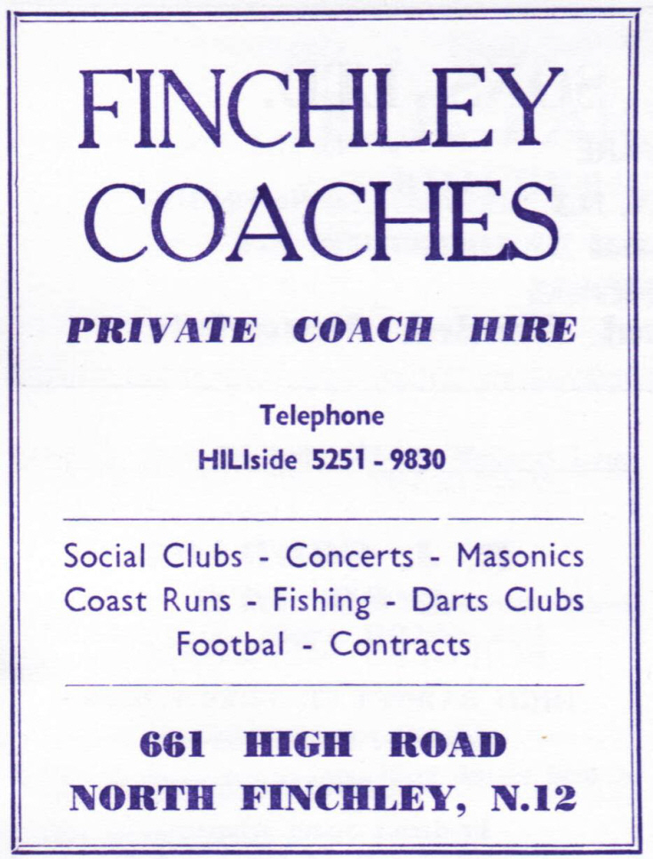 Finchley/Southgate Coaches Ltd