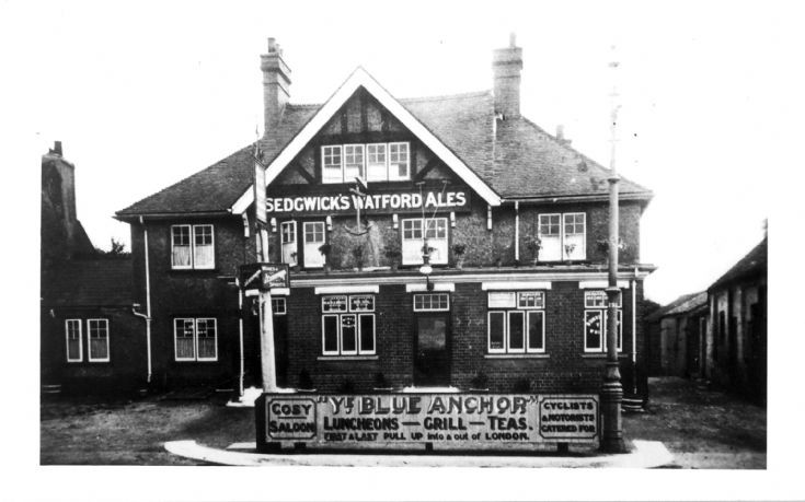 The Blue Anchor, 1432 High Road, Whetstone