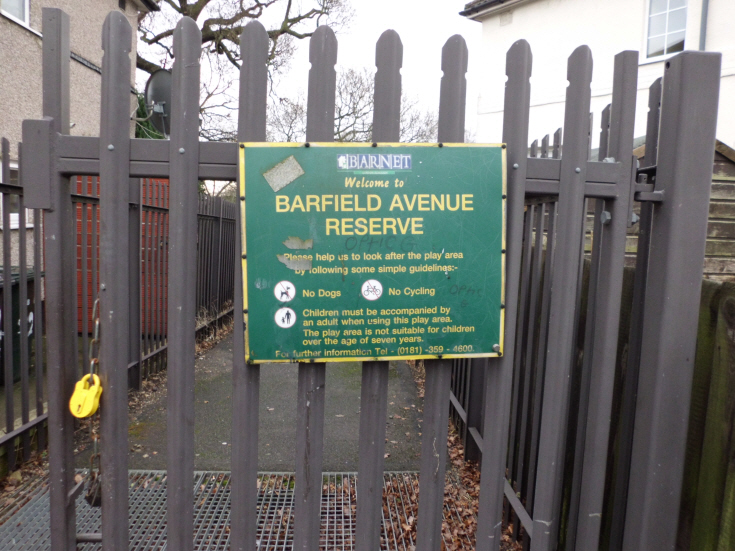 Barfield Avenue Reserve