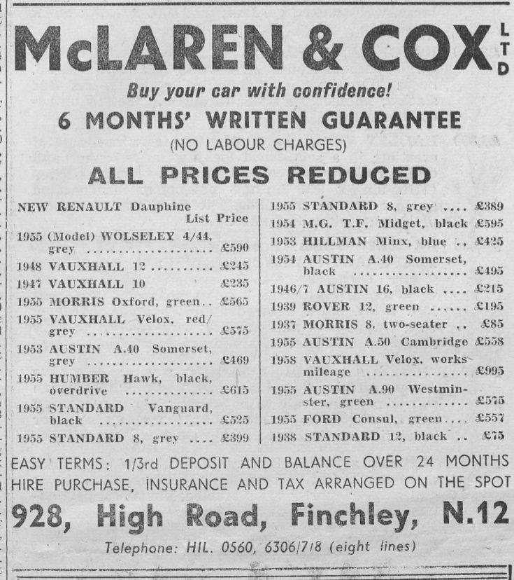 McLaren & Cox