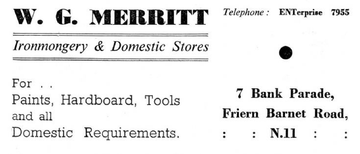A G Merritt
