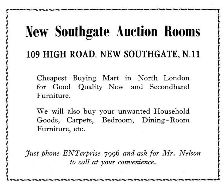 New Southgate Auction Rooms