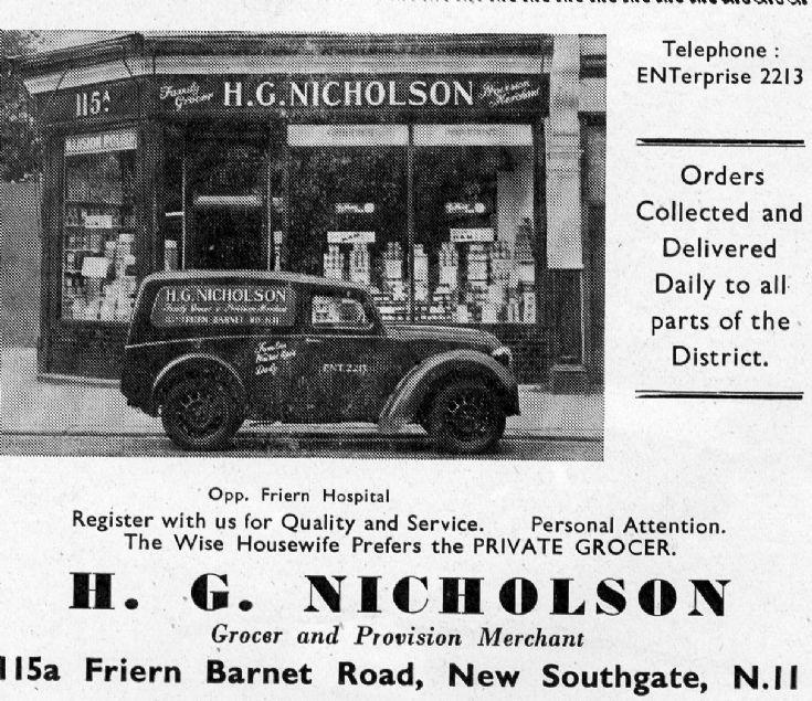 H G Nicholson