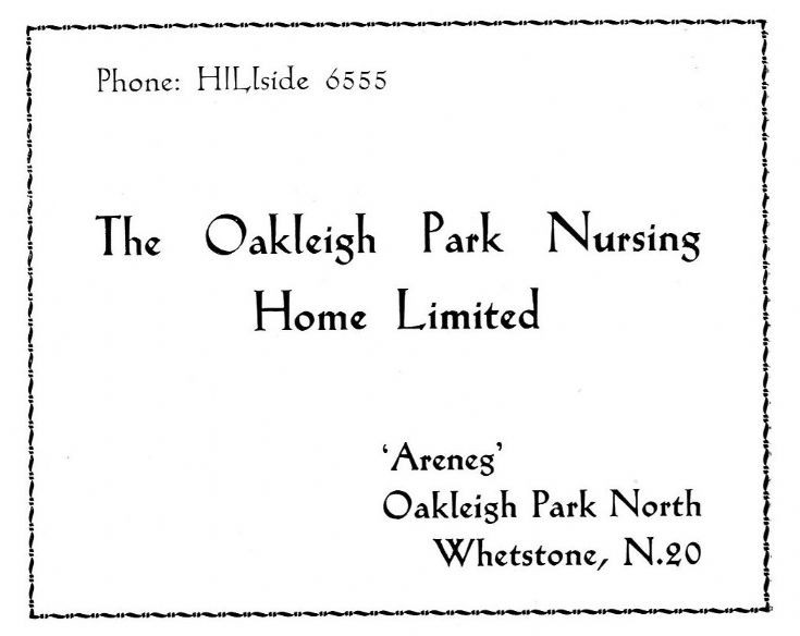 Oakleigh Park Nursing Home