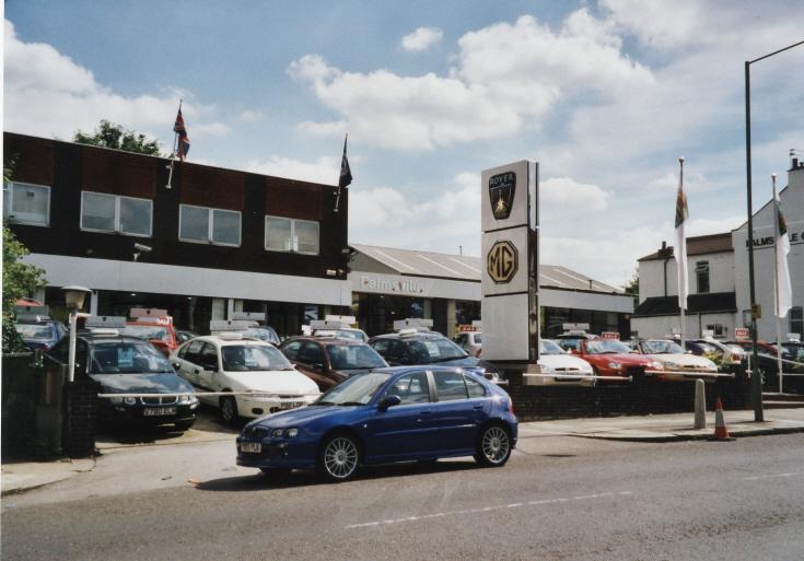 Palmsville Garage, Colney Hatch Lane