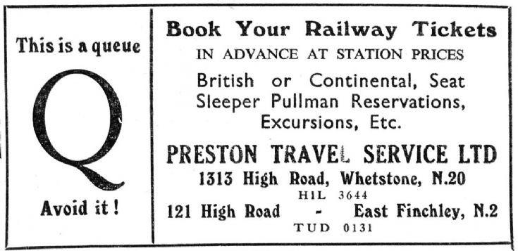 Preston Travel Service