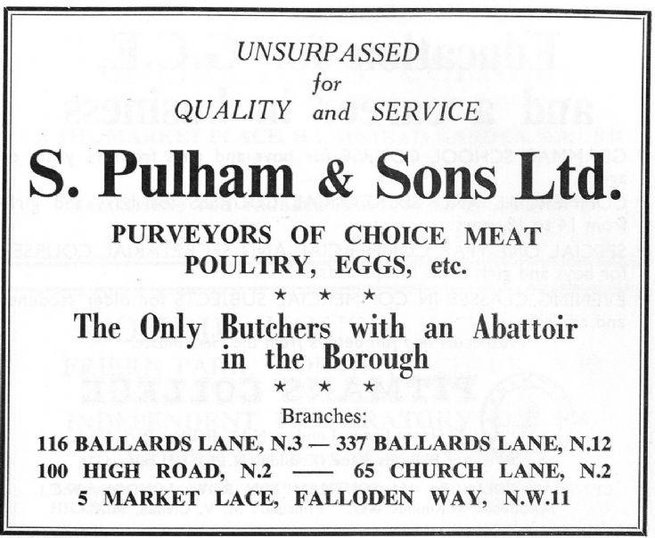 S Pulham & Sons Ltd