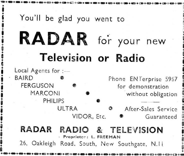 Radar Radio & Television