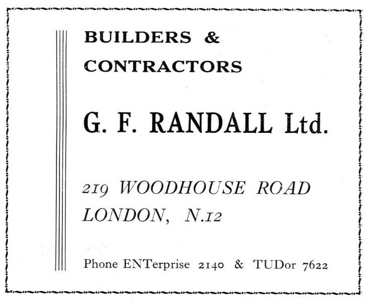 Randall, G F