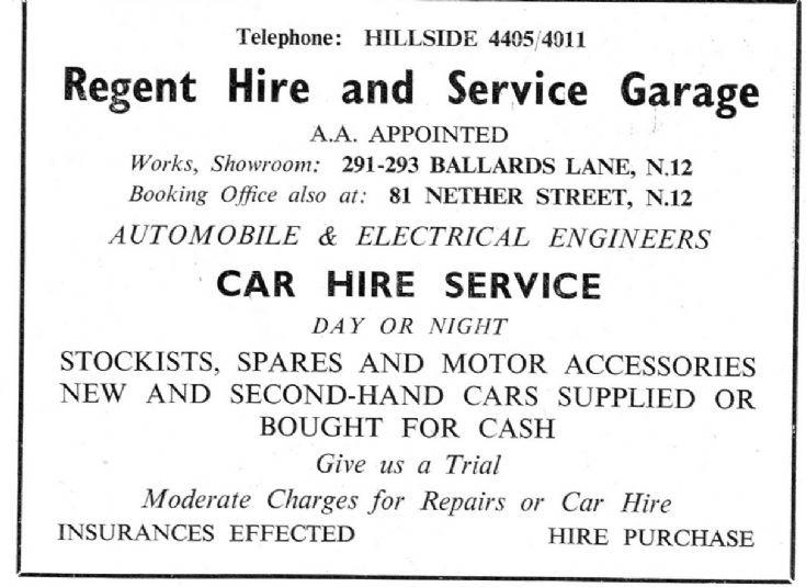 Regent Hire & Service Garage