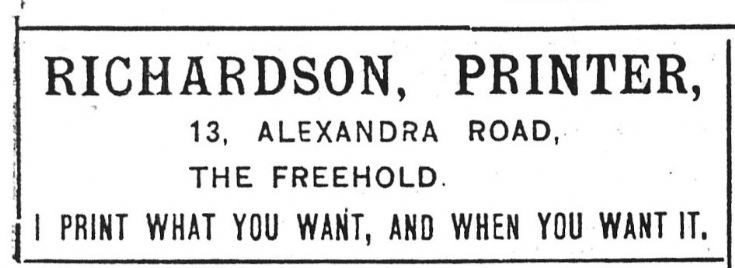 Richardson, Printer