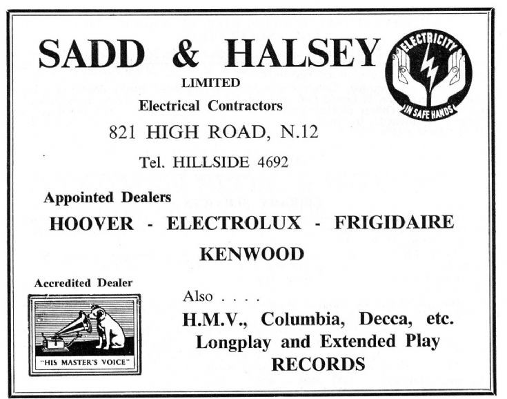 Sadd & Halsey
