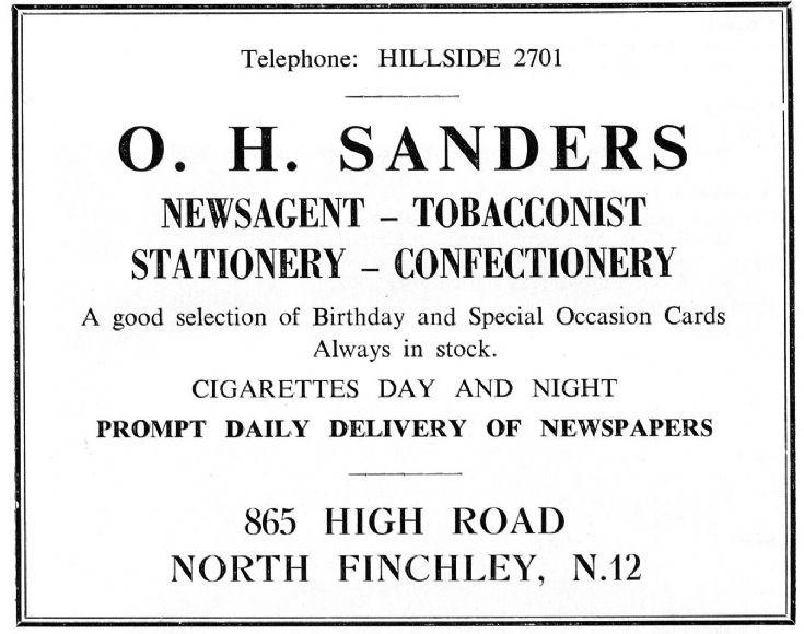 O H Sanders