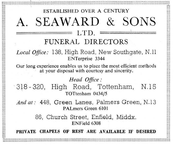 A Seaward & Sons