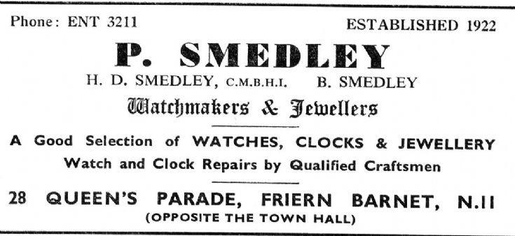 P Smedley