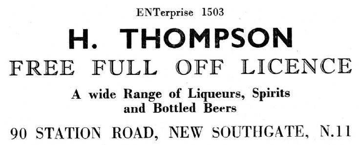 H Thompson