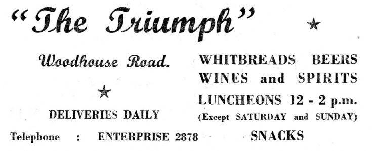 Triumph pub