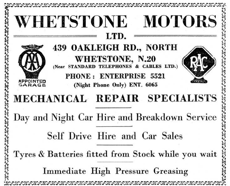Whetstone Motors