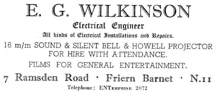 E G Wilkinson