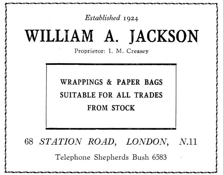 William A Jackson