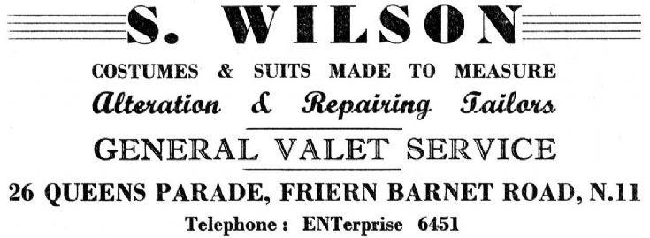 S Wilson