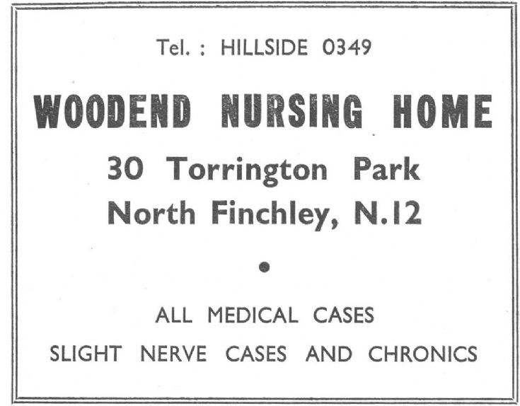 Woodend Nursing Home