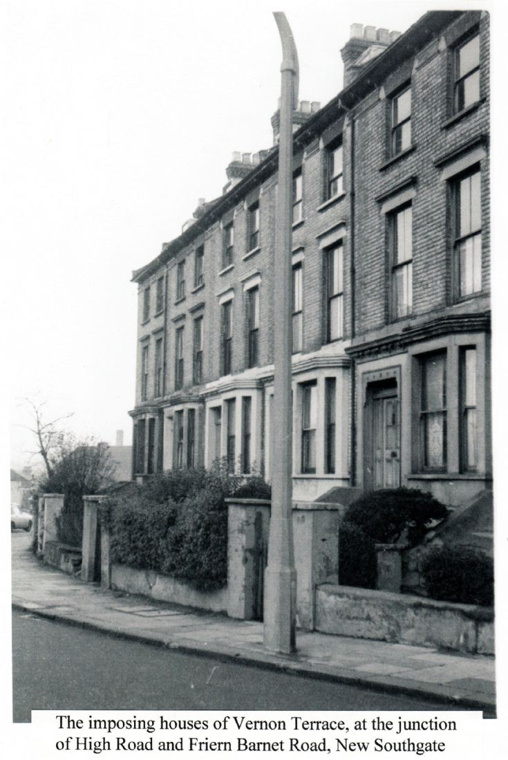 Vernon Terrace, New Southgate