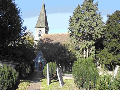 St James Church, Frierrn Barnet Lane