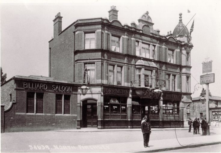 Torrington Hotel, 811 High Road, North Finchley