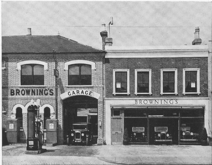 Brownings Garage, Ballards Lane