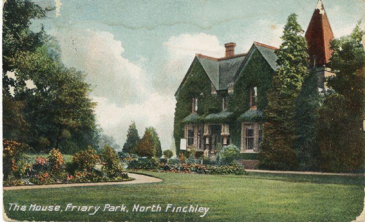 Friary Park. Friary House