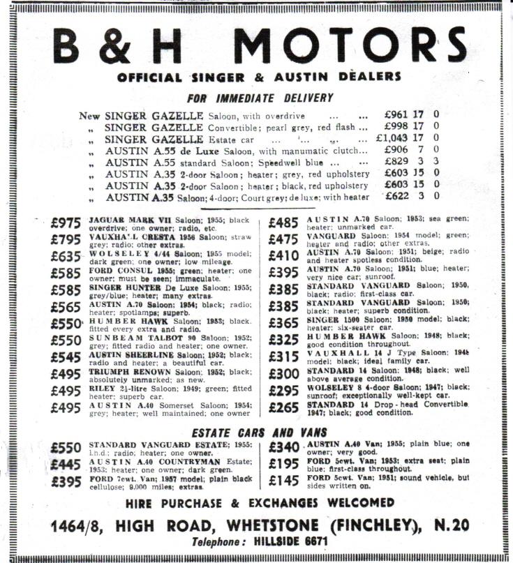 B & H Motors