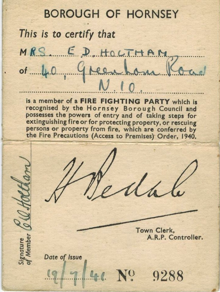 Identity Card (ARP)