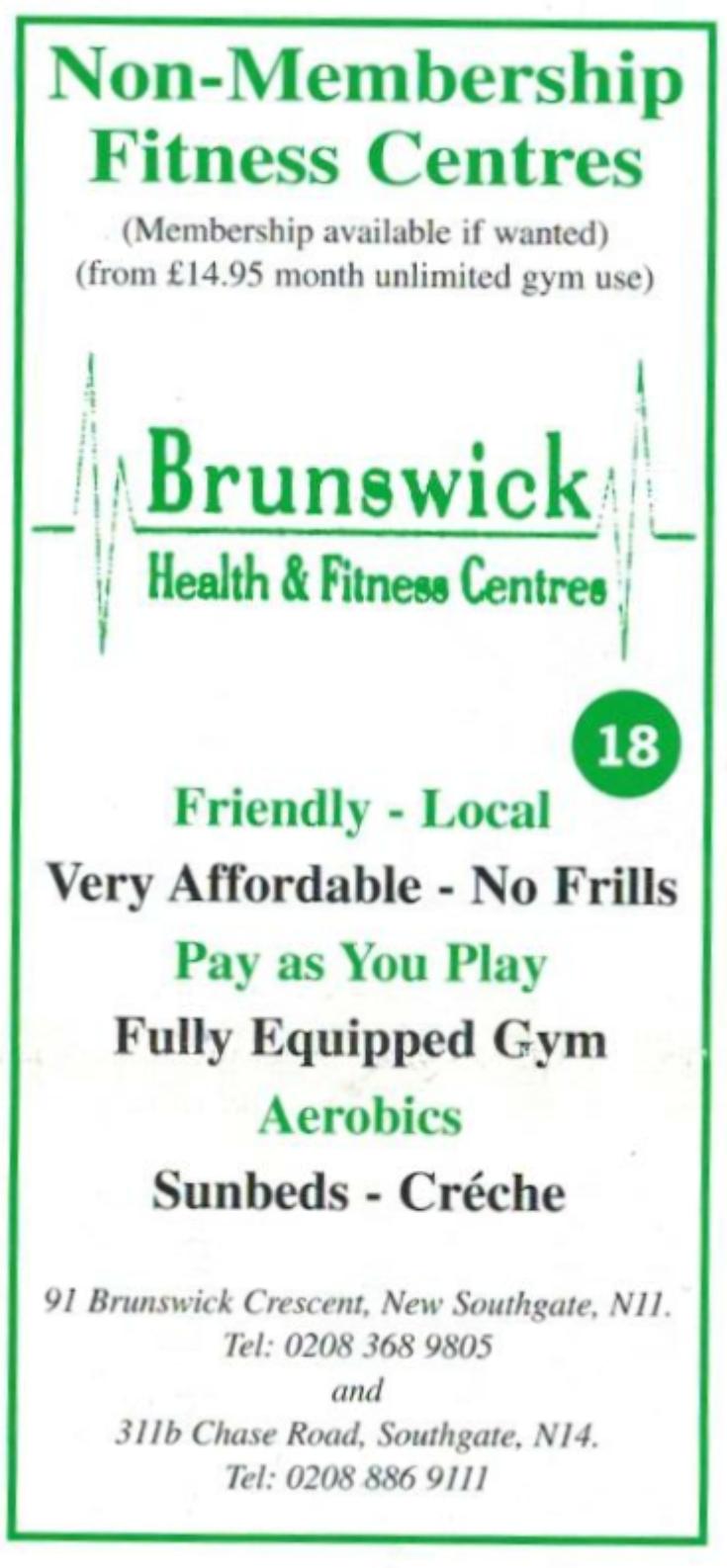 Brunswick Health & Fitness Center