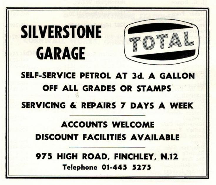 Silverstone Garage
