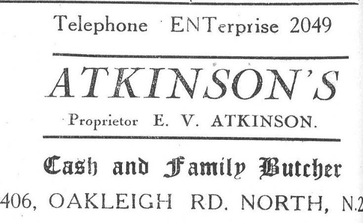 E V Atkinson