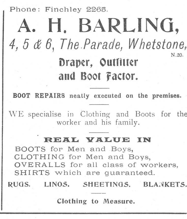 A H Barling