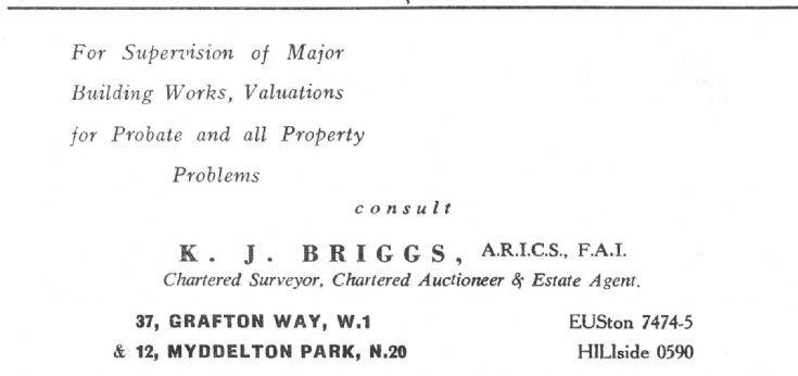 K J Briggs