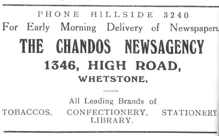 Chandos Newsagency