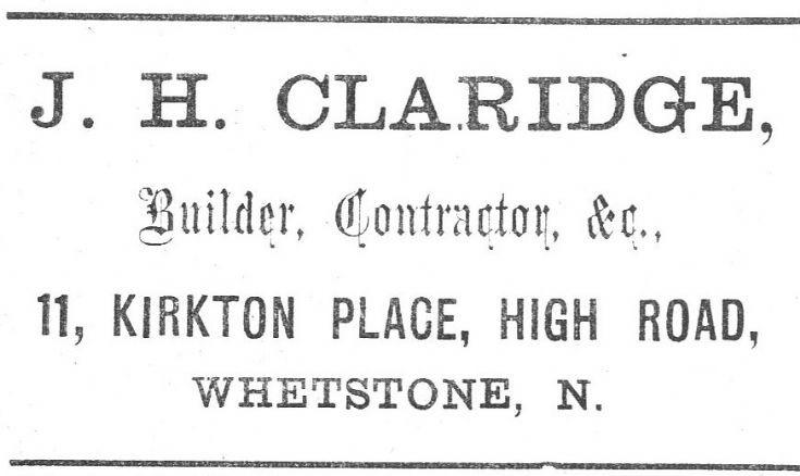 J H Claridge