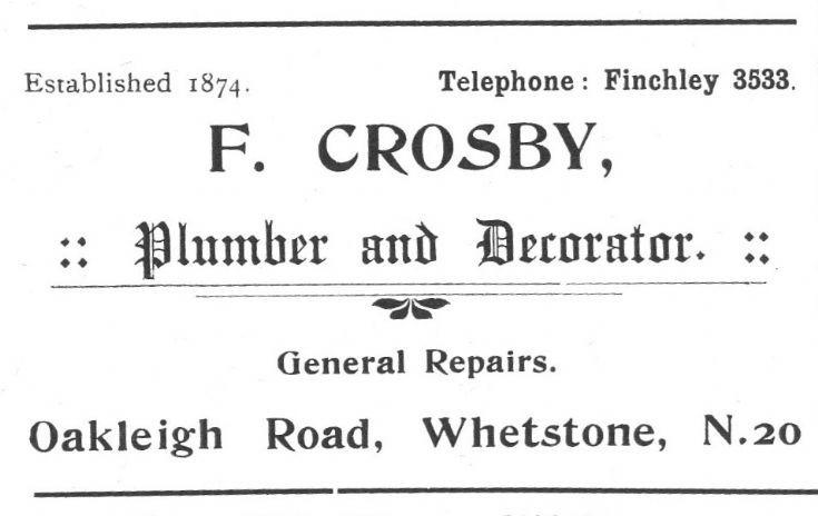 F Crosby