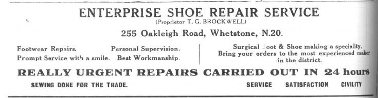 Enterprise Shoe Repair Service