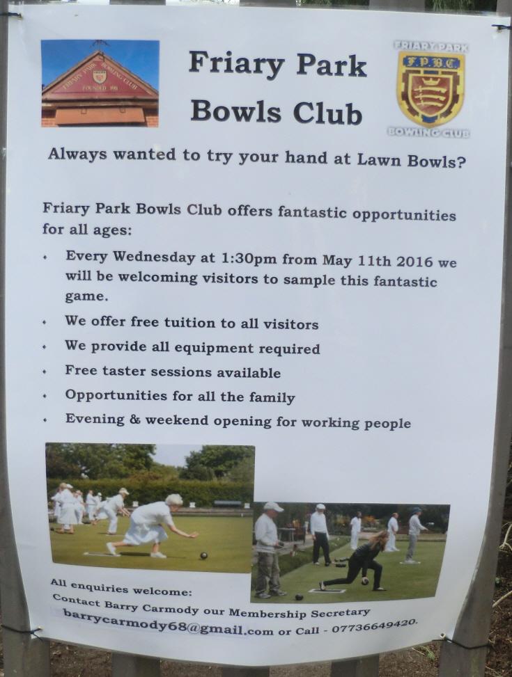 Friary Park Bowling Club