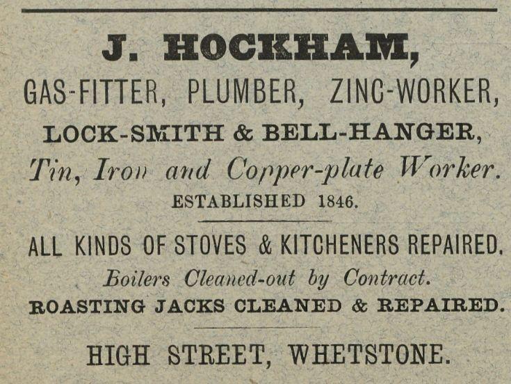 J Hockham