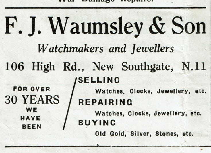 F J Waumsley & Son