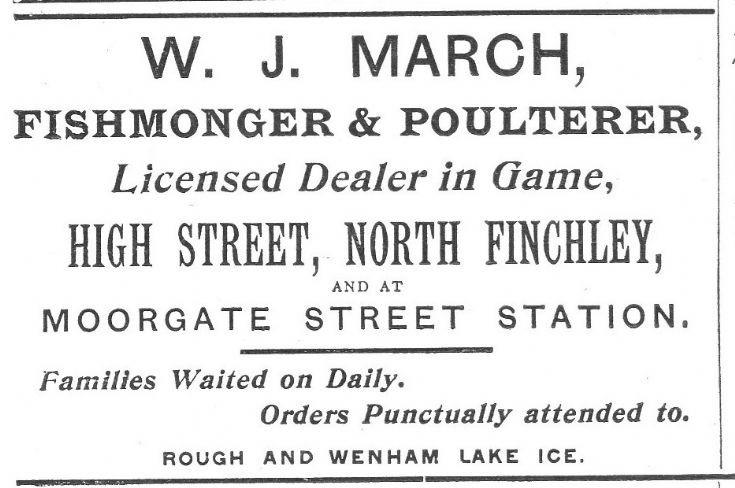 W J March