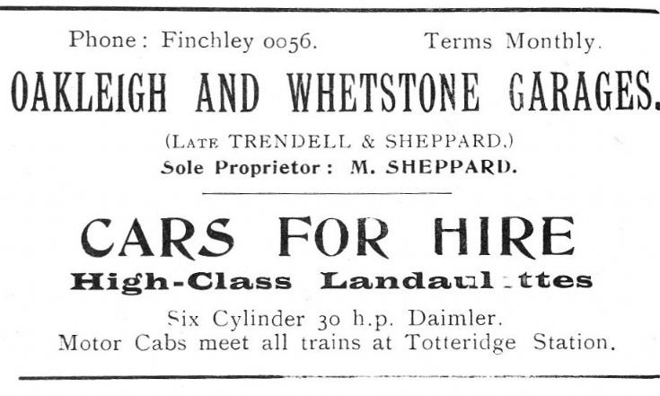 Oakleigh & Whetstone Garages