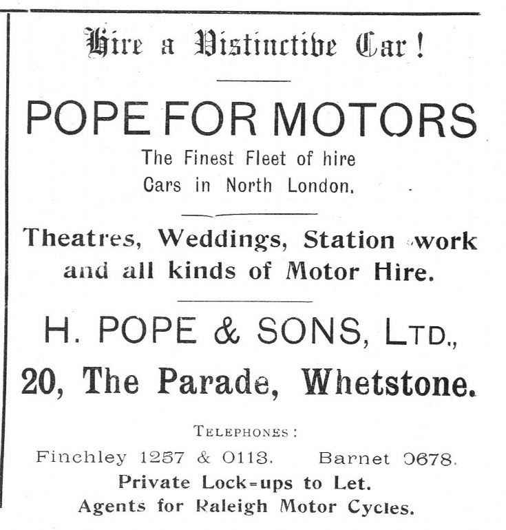 H Pope & Sons