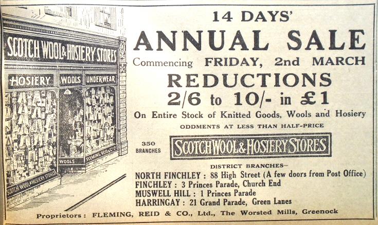 Scoth Wool & Hosiery Stores